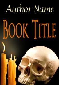 Candlelit Skull - $40.00 USD
