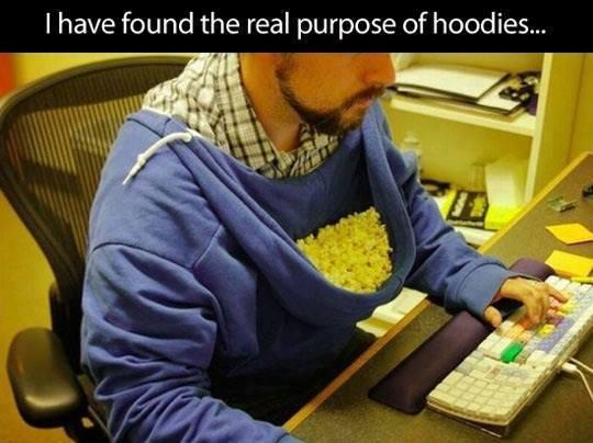 Hoodie Snacks