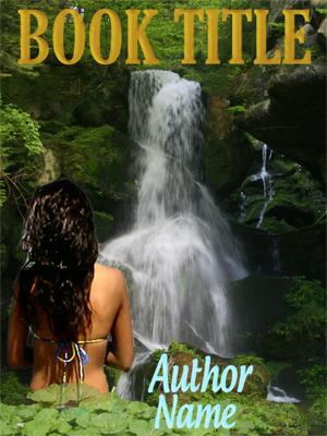 Waterfall Girl Web Book Graphics